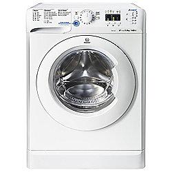 Indesit Innex Washing Machine, XWA81482XW, 8KG Load, White