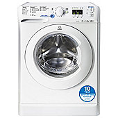 Indesit Innex Washing Machine, XWA81482XW, 8KG Load, White