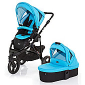 ABC Design Cobra 3 in 1 Pushchair & Carrycot (Black/Rio)