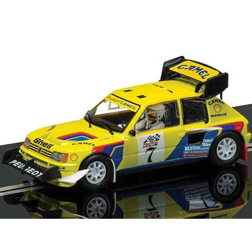 Scalextric Slot Car C3641 Peugeot 205 T1 6