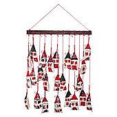 Hanging House Mobile Christmas Advent Calendar