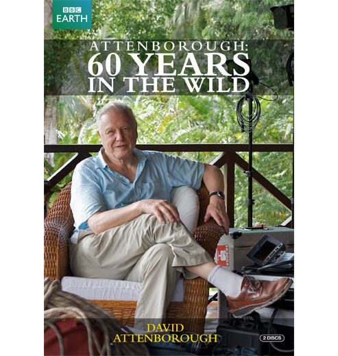 Sir David Attenborough: Sixty Years In The Wild (DVD Boxset)