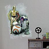 Star Wars Wall Stickers – Episode VII, Droids