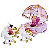 Peppa Pig Princess Peppas Carriage With Glitter