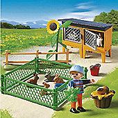 Playmobil 5123 Bunny Hutch