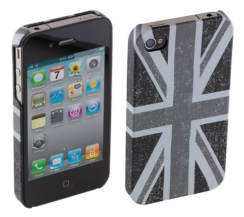 Trendz Hard Clip-On Case for iPhone 4/4S - Distressed Union Jack