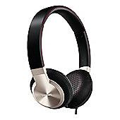 SHL9700-10 Over Ear Headphones with 40mm Speakers in Black