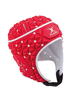 Gilbert Ignite Rugby Headguard - Red