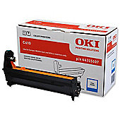 OKI 44315107 Cyan Image Drum for C610 A4 Colour Printers (Yield 20,000 Pages)