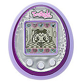 Tamagotchi Friend - Purple and Silver Gem
