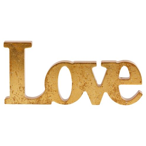 F&F Home Love Sign Objet