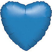 Periwinkle Blue Heart Balloon - 18' Foil (each)