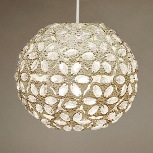 Buy Moroccan Style Metal Ceiling Pendant Light Shade Cream From Our Glass Lamp Shades Range Tesco