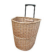 Wicker Valley Willow Trolley with Extended Handle