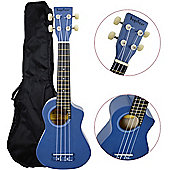 Bugs Gear Lorenzo Ukulele with Bag - Blue