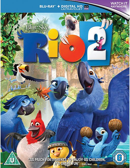 Rio 2 Bd - Digital Hd Uv