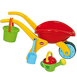 Gowi Toys 558-74 Design Wheelbarrow Set