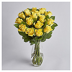Simply Roses Yellow Bouquet