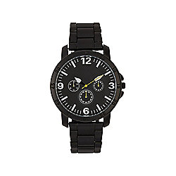 F&F Black Bracelet Watch
