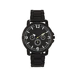 F&F Black Bracelet Watch