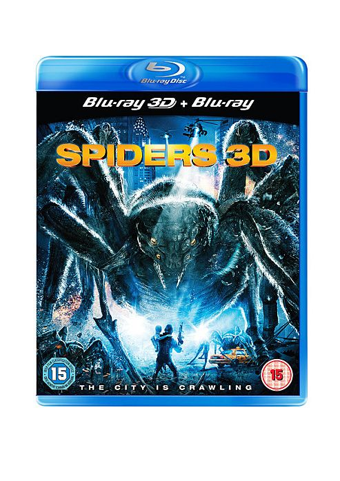 Spiders 3D Blu Ray