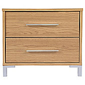Riva 2 Drawer Bedside Chest