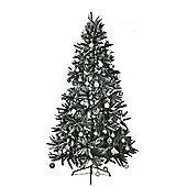 Mountain Pine PE Snow Tipped 8ft Christmas Tree