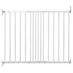 BabyDan MultiDan Metal Extending Gate White