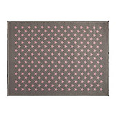 Lorena Canals Estrellitas Grey Children's Rug - 140 cm x 200 cm (4 ft 6 in x 6 ft 6 in)