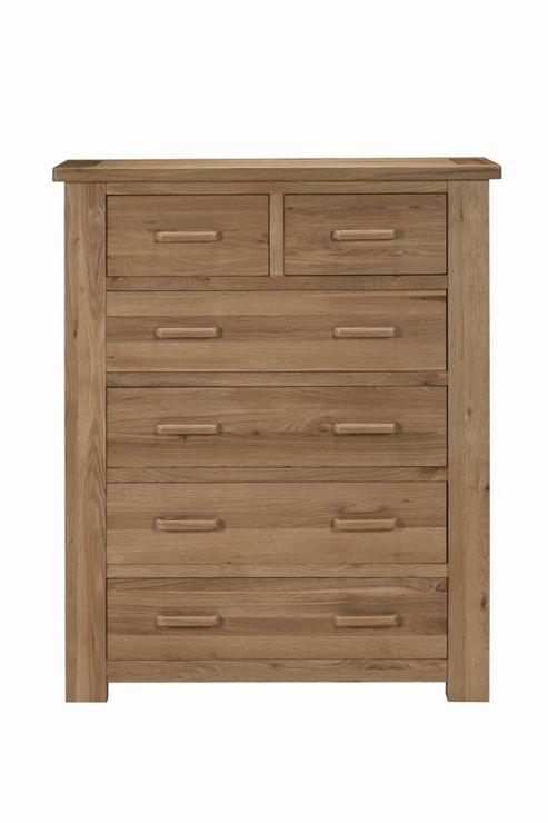 Kelburn Furniture Sasso 2 Over 4 Drawer Chest