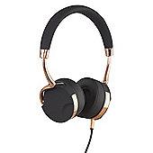 KitSound Milano Over-the-ear overhead headphones, Black