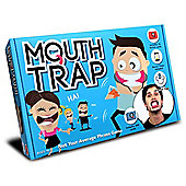 Mouth Trap the Speak Out Loud Talking Mouthpiece Game with Forfeit Cards (UK Edition)