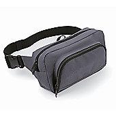 Bagbase 2.5L Organiser Waistpack Bag Grey