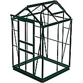 Simplicity Sandon 4x4 Green Greenhouse With Horticultural glass