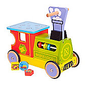 Bigjigs Toys BJ325 Train Ride On