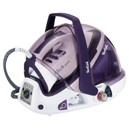 Tefal GV9461 Protect Auto Clean Ceramic Plate Steam Generator Iron - Purple & White