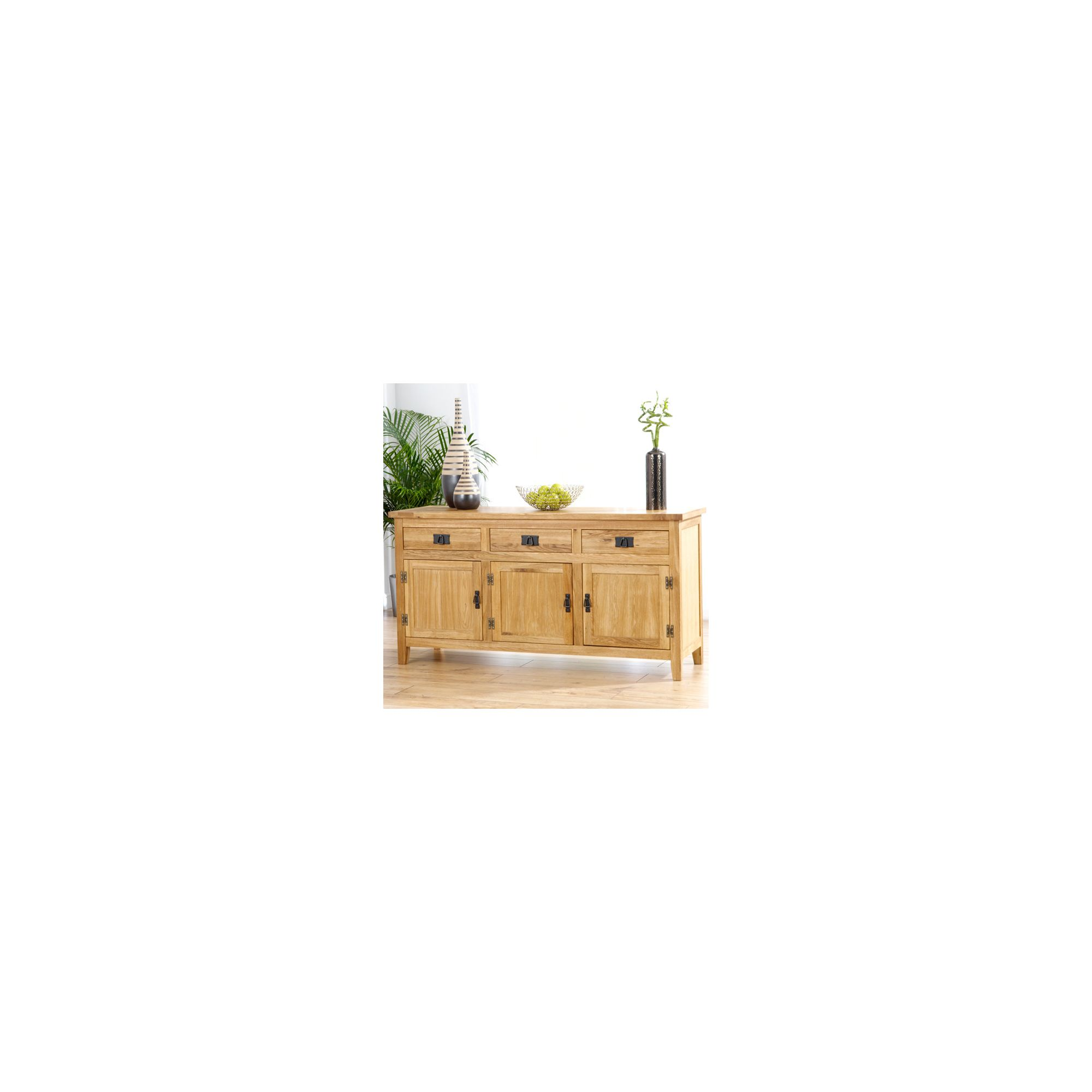 Mark Harris Furniture Madrid Large Sideboard with Wine Cabinet at Tesco Direct