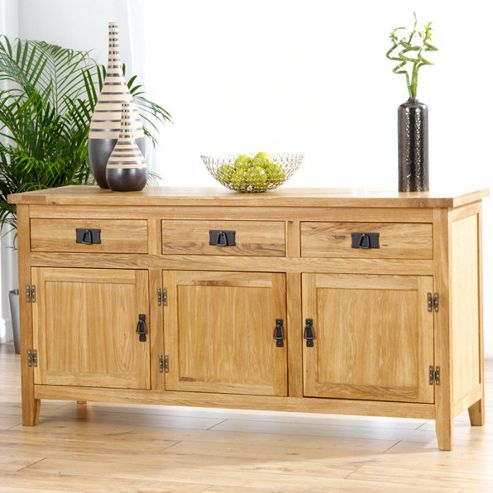 Mark Harris Furniture Madrid Large Sideboard with Wine Cabinet