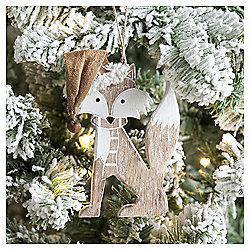 Weiste Wooden Fox Christmas Tree Decoration