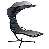 Bentley Garden Helicopter Swing Chair - Grey