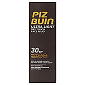 Piz Buin Ultra Light Face Spf 30 50Ml