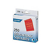 Photo Mounting Squares White Pk250