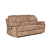 Sofa Collection Constance Recliner Sofa - 3 Seat - Medium Brown