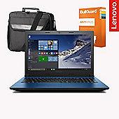 "Lenovo Ideapad 305 - 80NJ00F5UK - 15.6"" Laptop Intel Core i3 5005U 8GB 1TB Windows 10 With Antivirus & Case"