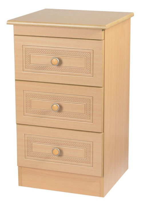 Welcome Furniture Corrib 2 Drawer Chest with Locker - Beech