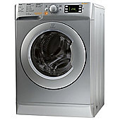 Indesit Innex Washer Dryer, XWDE861480XS, 8KG Load, Silver