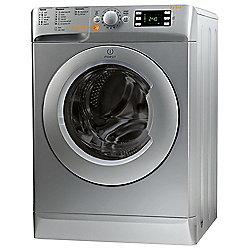 Indesit Innex Washer Dryer, XWDE861480XS, 8KG Load, Silver