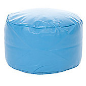 Kaikoo Kid's Footstool - Blue Polka