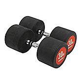 Bodymax Pro V3 Rubber Dumbbells - 30kg