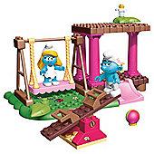 Mega Bloks The Smurfs Playground Playset